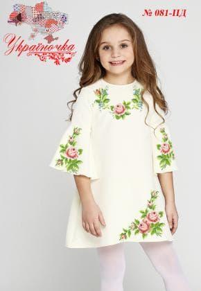 Заготовка дитячого плаття ПД-081 Україночка
