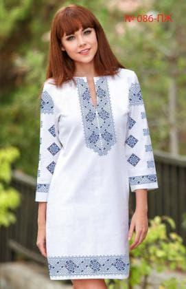 Заготовка плаття ПЖ-086 Україночка