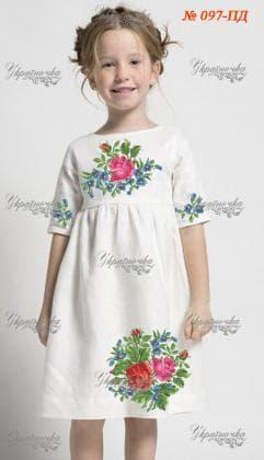 Заготовка дитячого плаття ПД-097 Україночка