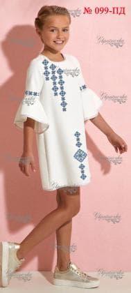 Заготовка дитячого плаття ПД-099 Україночка