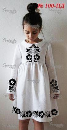 Заготовка дитячого плаття ПД-100 Україночка