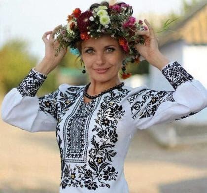 Заготовка блузки СЖ-298 Україночка