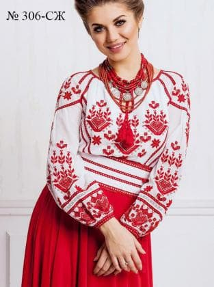 Заготовка блузки СЖ-306 Україночка