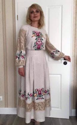 Заготовка для плаття ПЖ Загадкові візерунки 3м Гармонія