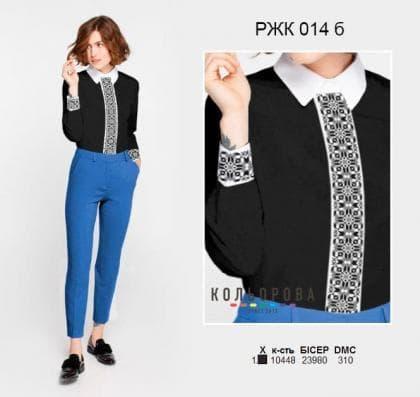 Рубашка жіноча комбінована РЖК-014 Б Кольорова