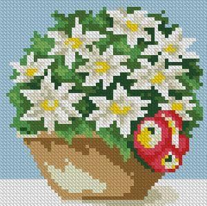 Клубочок зелені DM-025 Алмазна мозаїка