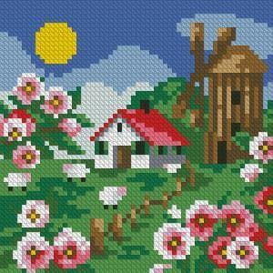 Літній день DM-027 Алмазна мозаїка