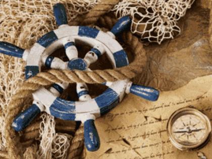 Капітанський штурвал DM-049 Алмазна мозаїка