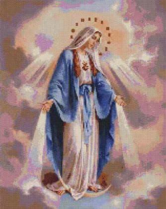 Непорочне зачаття Діви Марії  SP095 Алмазна мозаїка IF