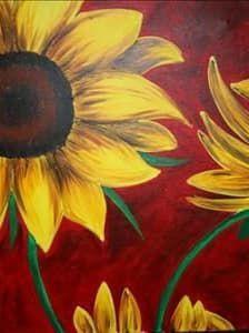 Арт соняшник DM-095 Алмазна мозаїка