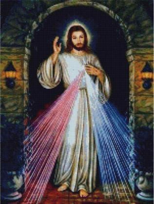 Ісусе, уповаю на Тебе SP096 Алмазна мозаїка IF