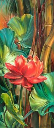 Барвиста квіточка DM-097 Алмазна мозаїка