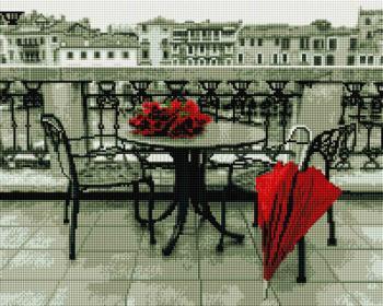Романтичний етюд SP001 Алмазна мозаїка IF