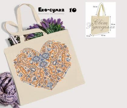 Еко-сумка ЕС-10 Світ рукоділля