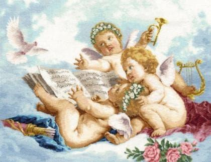 Ангели на хмарах