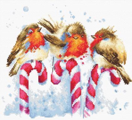 Різдвяні пташки В1154 Luca S