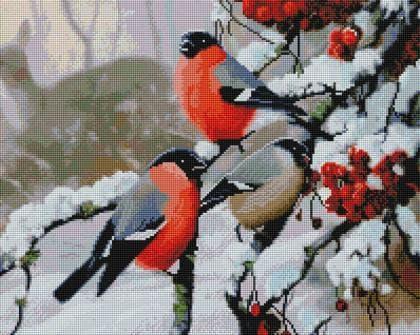Снігурі SP035 Алмазна мозаїка IF