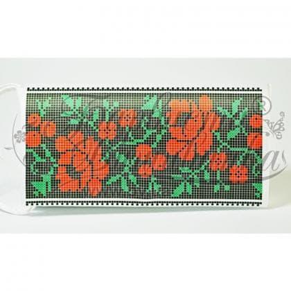 Клатч для вишивки бісером КЛ-128 Барвиста вишиванка