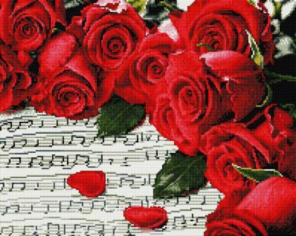 Трояндова мелодія SP037 Алмазна мозаїка IF