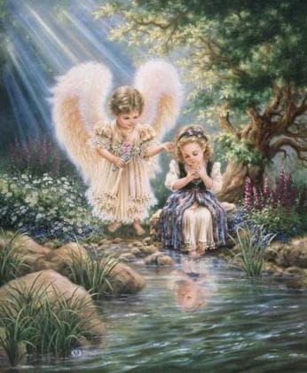 Ангели біля струмка