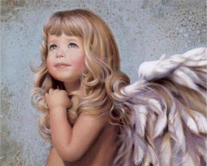 Милий  ангел DM-152 Алмазна мозаїка