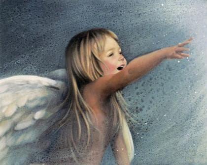 Сміх ангела DM-154 Алмазна мозаїка