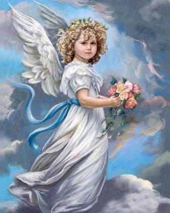 Ангел в хмарах