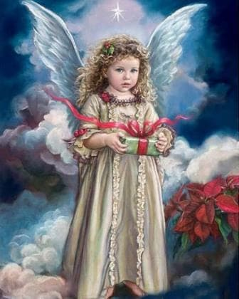 Сюрприз від ангела DM-159 Алмазна мозаїка