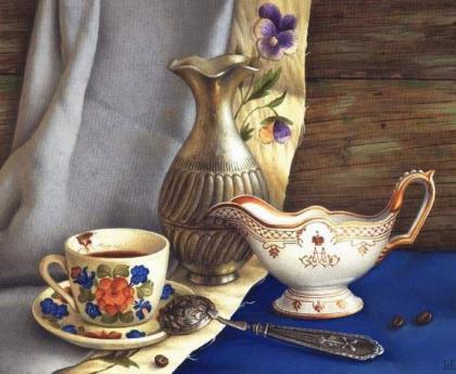 Натюрморт з кавою DM-162 Алмазна мозаїка
