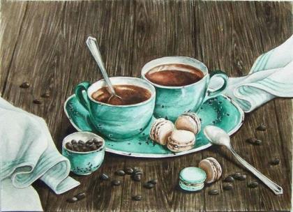 Ранкова кава DM-165 Алмазна мозаїка