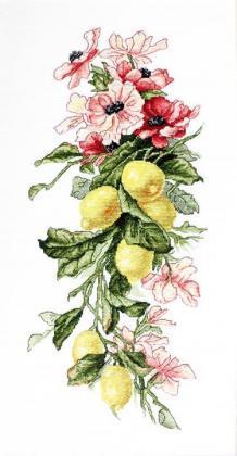 Квіти і лимони В210 Luca S