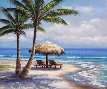 Райський острів DM-210 Алмазна мозаїка