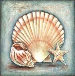 Морські мушлі DM-213 Алмазна мозаїка