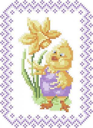 Великодній рушник ХВД-021 Княгиня Ольга