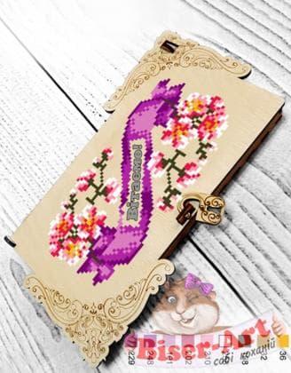Коробочка для грошей або прикрас Сакура 22203 Biser-Art