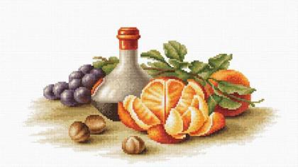 Натюрморт з апельсинами В2250 Luca S