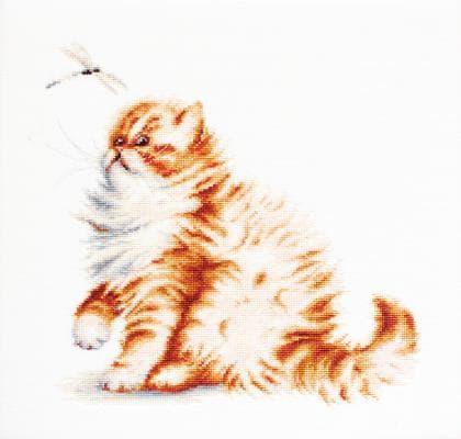 Кішка з бабкою В2270 Luca S