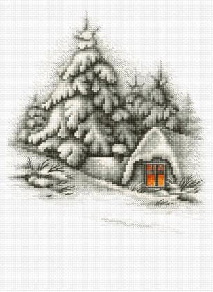 Зимовий пейзаж В2279 Luca S