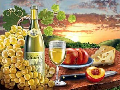 Вино Chablis DM-227 Алмазна мозаїка