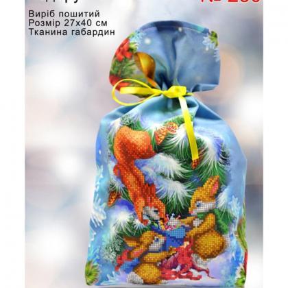 Новорічний мішечок 23002 Biser-Art