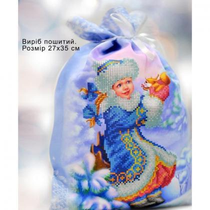 Новорічний мішечок 23006 Biser-Art