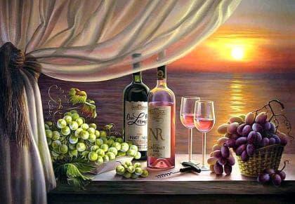 Романтична вечеря DM-238 Алмазна мозаїка