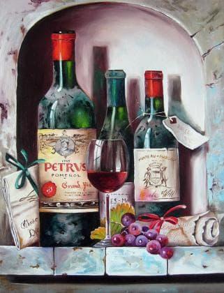 Старовинні вина DM-239 Алмазна мозаїка