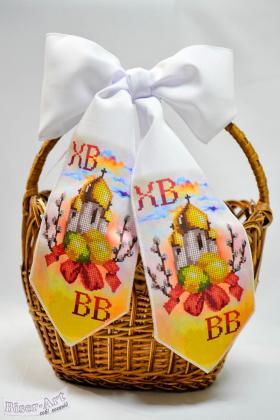 Бант на кошик Великодній 24003 Biser-Art