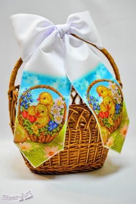 Бант на кошик Великодній 24006 Biser-Art