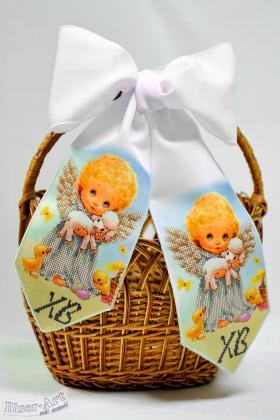 Бант на кошик Великодній 24008 Biser-Art