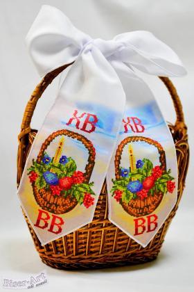 Бант на кошик Великодній 24009 Biser-Art