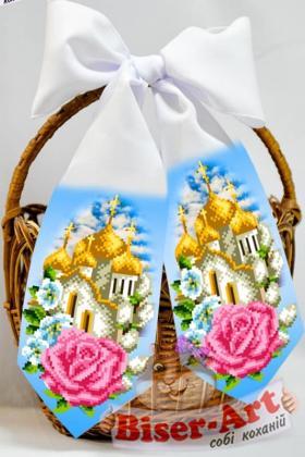 Бант на кошик Великодній 24018 Biser-Art