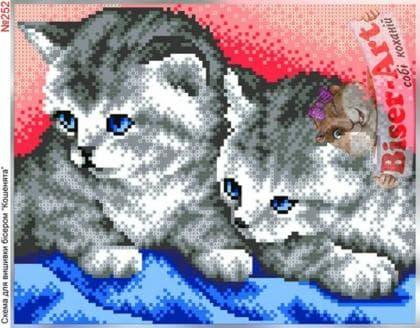 Котики 252 Biser-Art