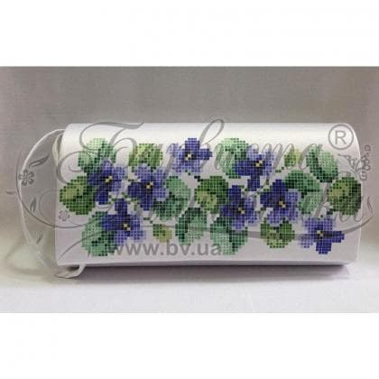 Клатч для вишивки бісером КЛ-025 Барвиста вишиванка